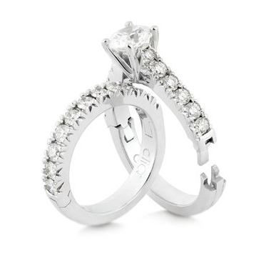 Cliq Fit Hinged Engagement Rings