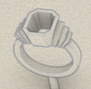 CAD ring design