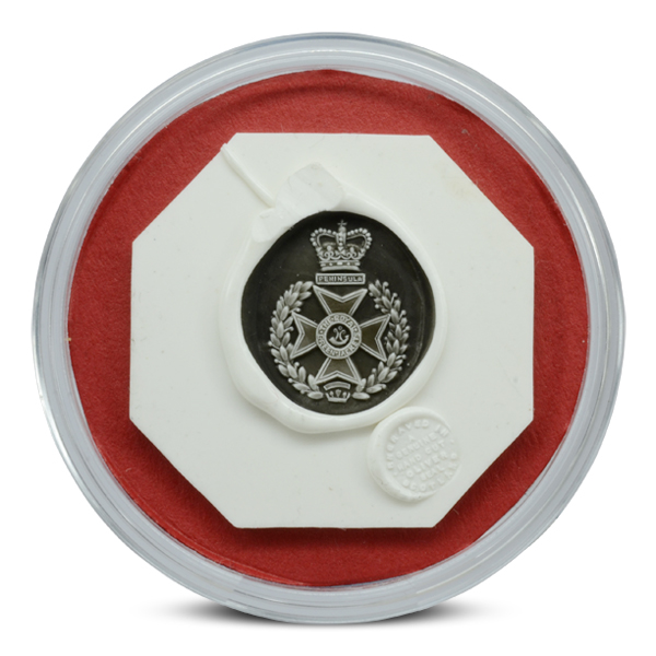 Regimental Signet Ring Seal Impression