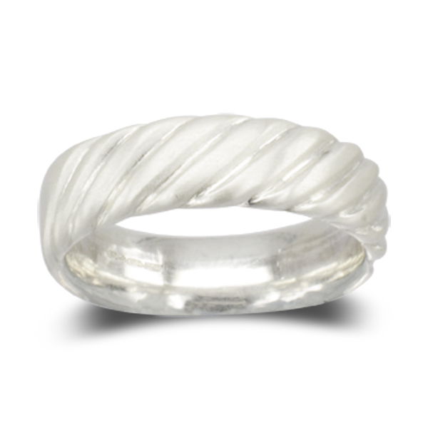Men's Wedding Bands Style Guide: twisted