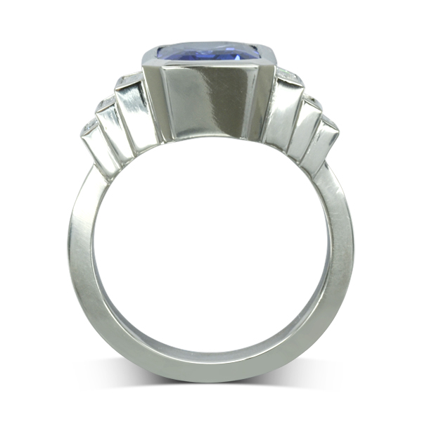 contemporary bespoke rings sussex
