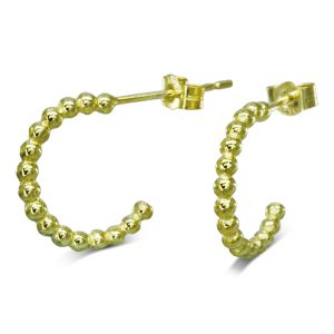 Nugget Earhoops Gold Small
