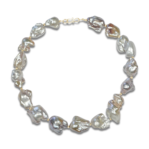 What to Wear to Glyndebourne Festival baroque pearl necklace